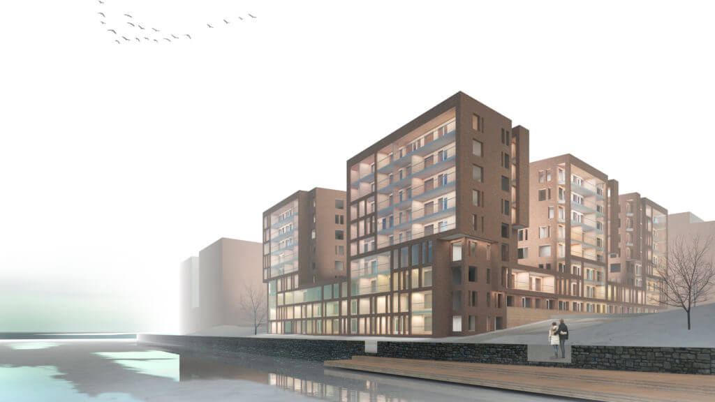BST-Arkkitehdit oy wins the design competition for a site in Ranta-Tampella