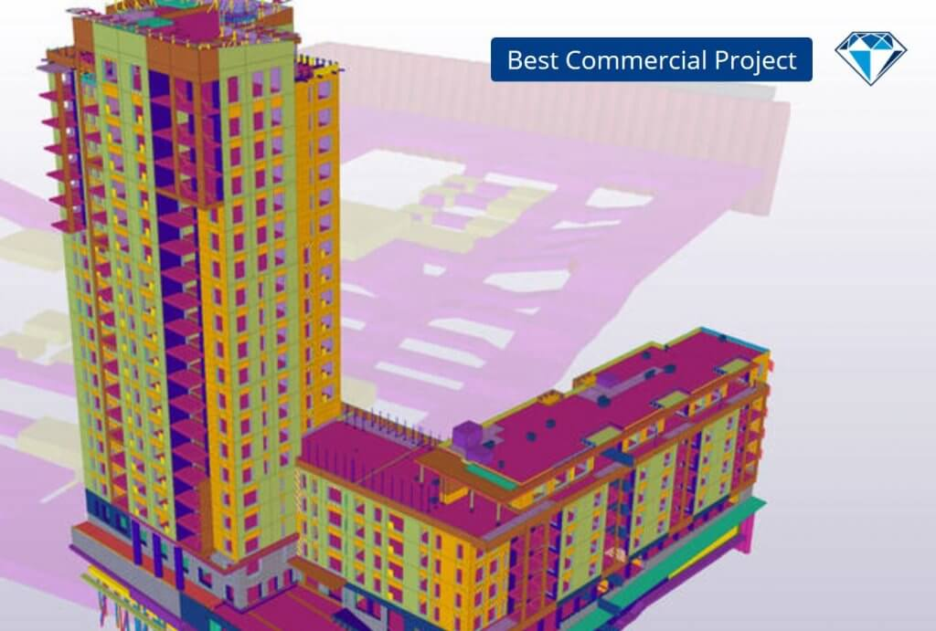 Luminary voitti Tekla Global BIM Awards palkinnon Best Commercial Project sarjassa