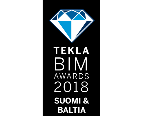 Luminarylle Tekla BIM Awards 2018 kunniamaininta