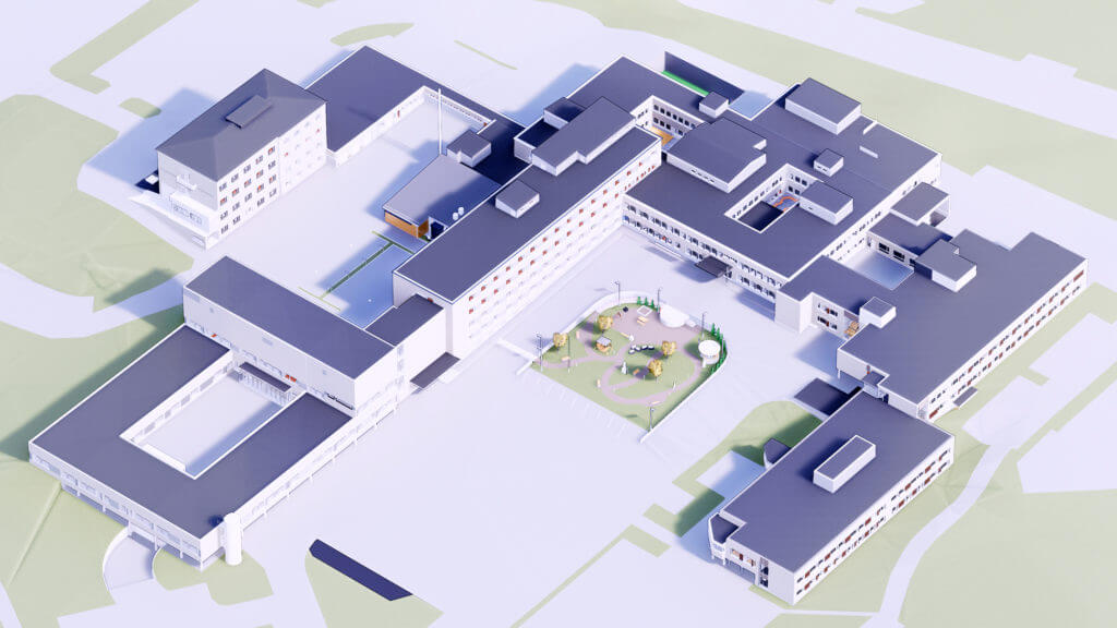 The well-being campuses in Sastamala and Valkeakoski